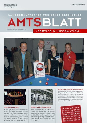 Ausgabe 10 2013 - Eisenstadt