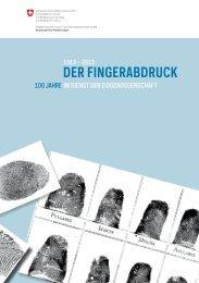 Der FingerabDruck - EJPD - admin.ch