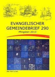 Gemeindebrief 290 - eki-britzingen-dattingen.de