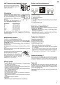 GEBRAUCHSANWEISUNG MODE D'EMPLOI ... - Elektroshop24 - Page 3