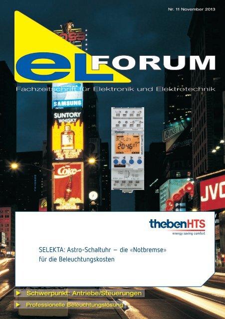 Ausgabe 13 11 - elforum