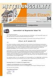 KW34 - Stadt Elzach