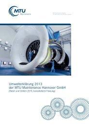 MTU HAN_Umwelt 2013_2.qxd - EMAS