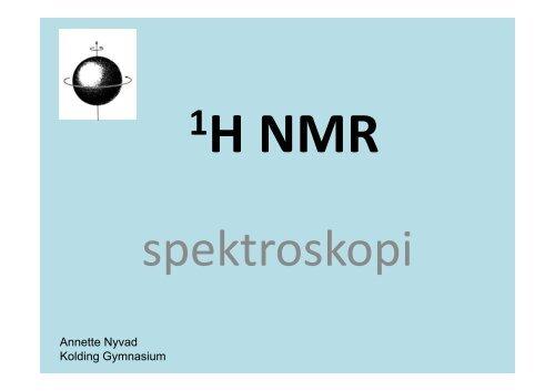 NMR spektroskopi teori ppt.pdf - Emu