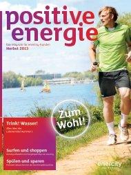 positive energie   Herbst 2013 - Enercity