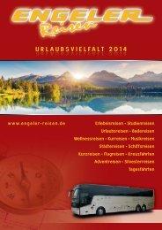 URLAUBSVIELFALT 2014 - Engeler Reisen