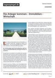 Tagesspiegel 08.09.12 - Engel & Völkers