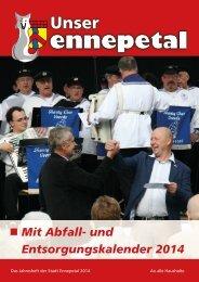 Mit Abfall- und Entsorgungskalender 2014 - Ennepetal