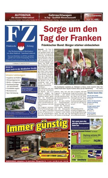 Bayreuth - E-Paper - Fränkische Zeitung