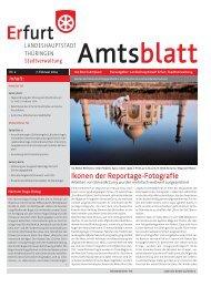 Amtsblatt Nr. 2 vom 07.02.2014 der Landeshauptstadt Erfurt