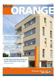 Solide Eigenkapitalausstattung bietet Sicherheit ... - Erfurter Bank eG