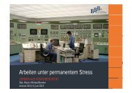 erwicon 2013: Arbeiten unter permanetem Stress - Lernen ... - Erfurt