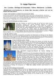 Programm 12-tägliche Pilgerreise.pdf - Erzabtei St. Ottilien