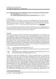 Rahmenstatut fuer GR und PR und ... - Erzbistum Köln