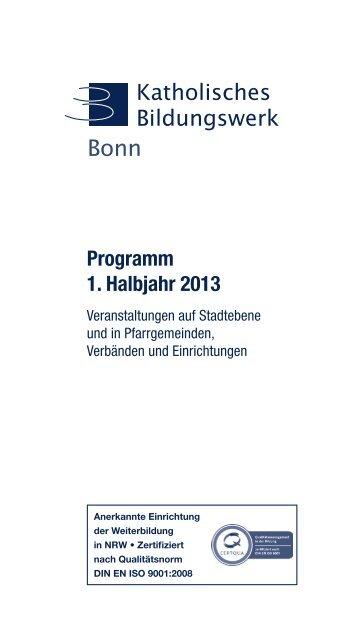 I. Projekte und Reihen - Erzbistum Köln