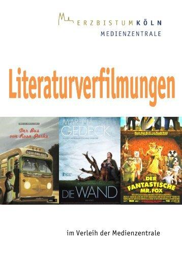 Literaturverfilmungen - Erzbistum Köln