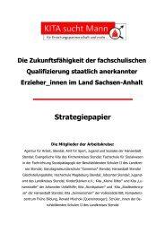 Strategiepapier - ErzieherIn.de