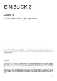 EIN:BLICK 2 - Europäischer Sozialfonds