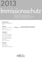 Jahresinhaltsverzeichnis 2013 - Erich Schmidt Verlag