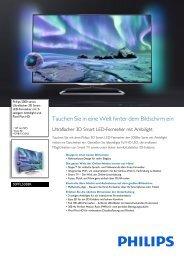 Datenblatt 50PFL5038K/12 - Estro