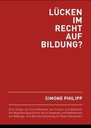 Lücken im Recht auf Bildung? Eine Studie zur ... - ETC Graz