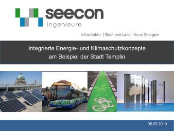 Integrierte Energie- und Klimaschutzkonzepte am Beispiel der Stadt ...