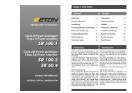 Bedienungsanleitung - Eton GmbH