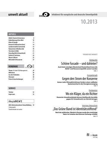Oktober 2013 - EU-Koordination