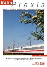4 · 2013 - Eisenbahn-Unfallkasse