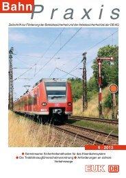 6 · 2013 - Eisenbahn-Unfallkasse