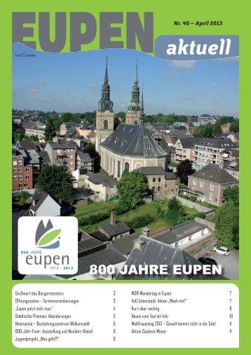 aktuell Nr. 40 - Stadt Eupen