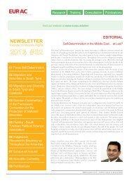 Newsletter Minority Rights 2/2013 - EURAC