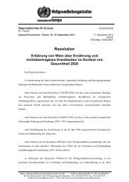 EUR/RC63/R4 Vienna Declaration on Nutrition and NCD in the ...