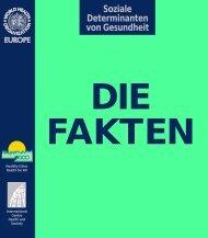 Soziale Determinanten von Gesundheit - WHO/Europe - World ...
