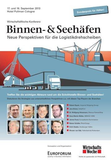 Binnen- & Seehäfen - Euroforum