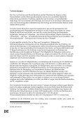 DE DE ENDGÜLTIGER ENTWURF EINES ARBEITSDOKUMENTS - Page 2