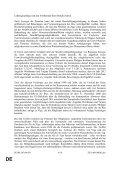 DE DE ENDGÜLTIGER ENTWURF EINES ARBEITSDOKUMENTS - Page 4