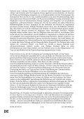 DE DE ENDGÜLTIGER ENTWURF EINES ARBEITSDOKUMENTS - Page 6
