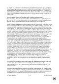 DE DE ENDGÜLTIGER ENTWURF EINES ARBEITSDOKUMENTS - Page 7