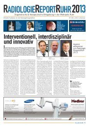 Interventionell, interdisziplinär und innovativ - European-Hospital
