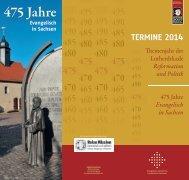 Terminübersicht Sachsen 2014 - Evangelisch-Lutherische ...