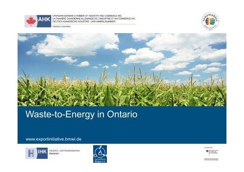 PDF: 437,7 KB - Exportinitiative Erneuerbare Energien - BMWi