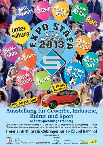 Ausstellung für Gewerbe, Industrie, Kultur und Sport - Expo Stäfa