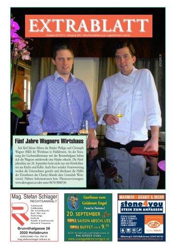 Ausgabe 007/2013 - extrablatt.co.at
