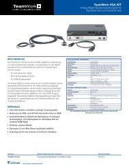 Extron - TeamWork VGA KIT - Extron Electronics