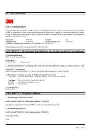 Sicherheitsdatenblatt ABSCHNITT 1: Bezeichnung des ... - Farnell