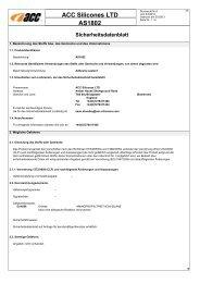 ACC Silicones LTD AS1802 - Farnell
