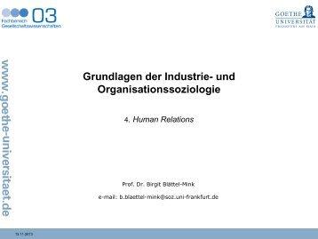 4. Human Relations