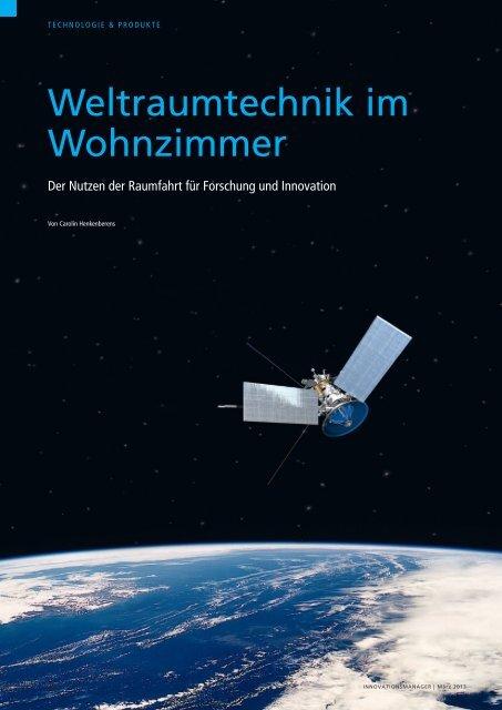 Weltraumtechnik im Wohnzimmer - FAZ-Institut