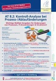AT 8.2 MaRisk - Finanz Colloquium Heidelberg